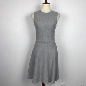 Ann Taylor Gray Stretch Knit Dress